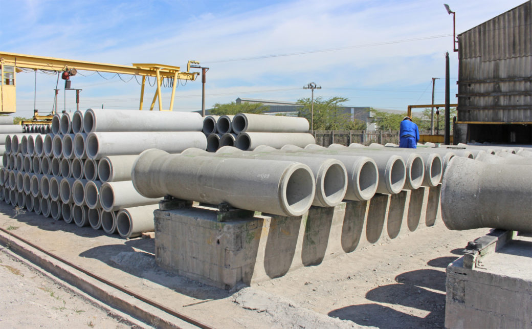 Various Diameter Precast concrete pipes in lengths of 2.5m